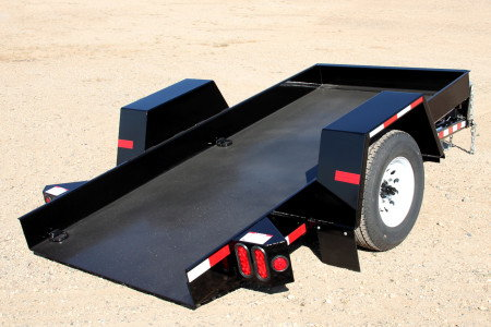 Big Tow Small Pan Tilt Trailer